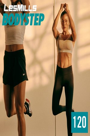 [Hot Sale] LesMills BODY STEP 120 New Release BS120 DVD,CD&Notes