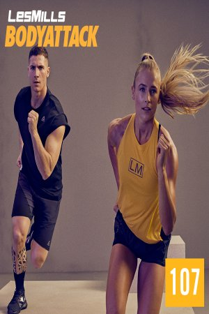 [Hot Sale]LESMILL BODY ATTACK 107 VIDEO+MUSIC+NOTES