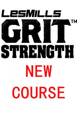 【Pre Sale]Les Mills GRIT Strength 34 New Release DVD,CD&Notes