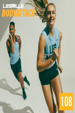 LesMills BODY ATTACK 108 New Release 108 DVD, CD & Notes