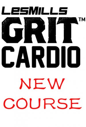 [Pre Sale]Les Mills GRIT Cardio 34 New Release CA34 DVD,CD&Notes