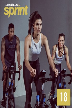 [Hot Sale]LesMills Sprint 18 VIDEO+MUSIC+NOTES