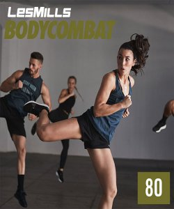 BODY COMBAT 80 VIDEO+MUSIC+NOTES