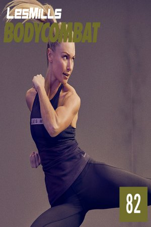 Les Mills BODY COMBAT 82 New Release BC82 DVD, CD & Note