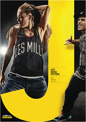 [Pre sale]Les Mills Body Jam 94 New Release BJ94 DVD, CD & Notes